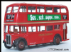 EFE 10104 AEC Regent RT - London Transport -Route 81b  London Airport - PRE OWNED